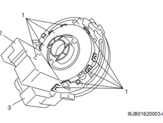 Suzuki-Grand-Vitara-Steering-Angle-Sensor-Removal-Installation-1