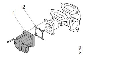 How-to-Clean-EGR-Valve-for-Scania-Truck-7-Litre-Engine-4