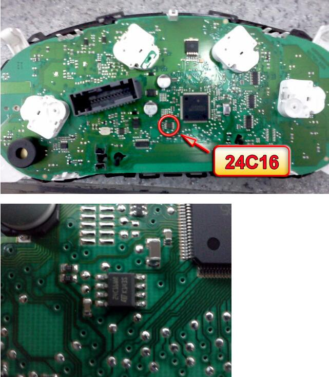 How-to-Remove-24C16-Chip-for-Suzuki-SX4-2010-2013-9