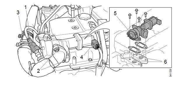 How-to-Replace-EGR-Valve-for-Scania-Truck-7-Litre-Engine-2