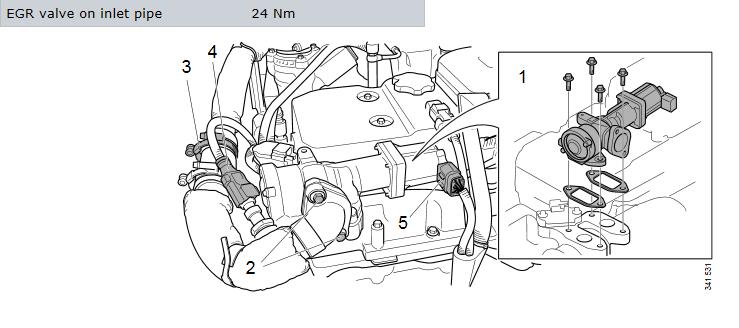 How-to-Replace-EGR-Valve-for-Scania-Truck-7-Litre-Engine-4
