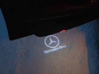 Cool-Door-Logo-Projector-Led-Installation-guide-on-Mercedes-Benz-E-Class-W212-5