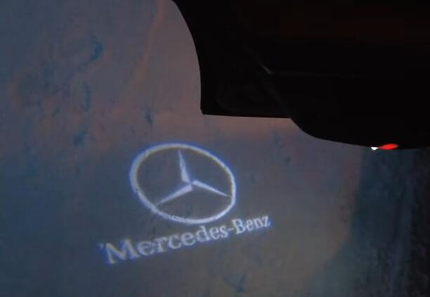Cool-Door-Logo-Projector-Led-Installation-guide-on-Mercedes-Benz-E-Class-W212-6