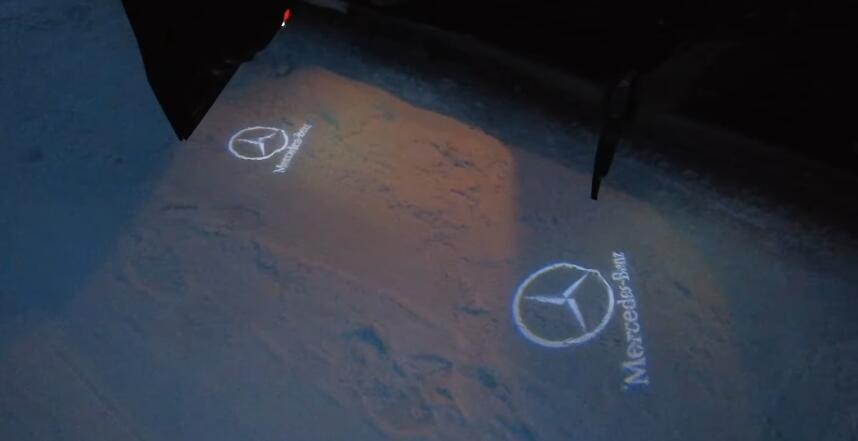 Cool-Door-Logo-Projector-Led-Installation-guide-on-Mercedes-Benz-E-Class-W212-7