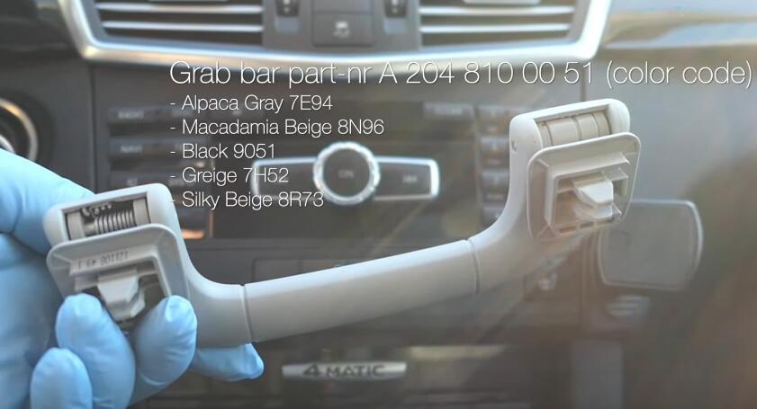 How-to-Install-a-Sunglass-Holder-on-Mercedes-Benz-E-Class-W212-4