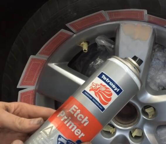 How-to-Repair-Curb-Rash-on-wheel-rim-on-VW-9