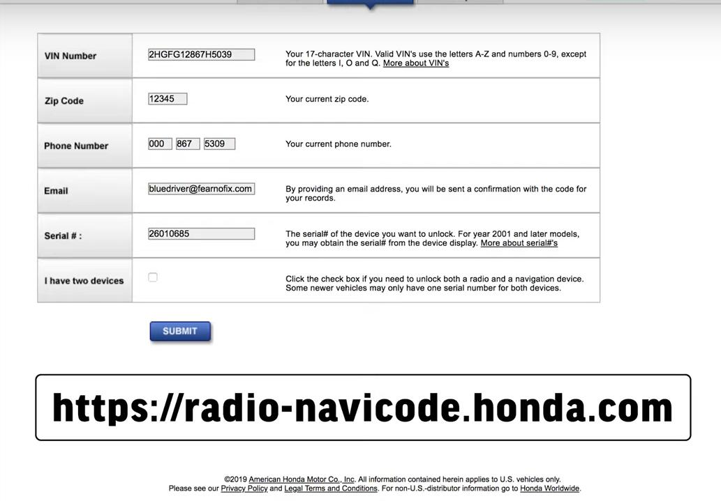 How-to-Reset-Radio-when-studio-is-in-anti-theft-mode-for-2006-2011-1.8L-Honda-Civic-4