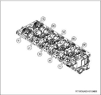 How-to-Remove-and-Install-Camshaft-Assembly-for-ISUZU-4JJ1-Euro-4-15