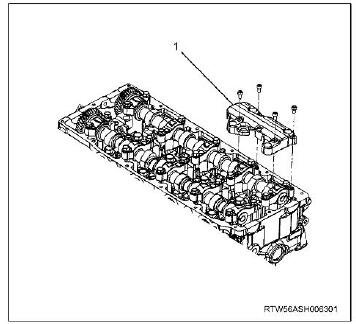 How-to-Remove-and-Install-Camshaft-Assembly-for-ISUZU-4JJ1-Euro-4-19