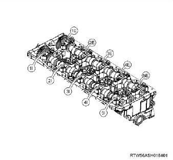 How-to-Remove-and-Install-Camshaft-Assembly-for-ISUZU-4JJ1-Euro-4-4