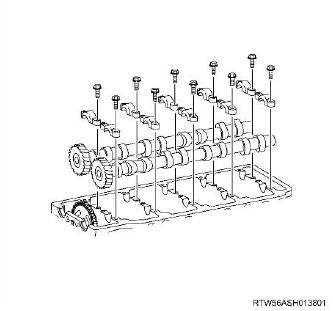 How-to-Remove-and-Install-Camshaft-Assembly-for-ISUZU-4JJ1-Euro-4-5