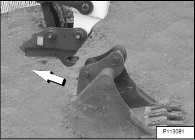 Bobcat-E85-Excavator-Hydraulic-Coupler-Kit-Remove-and-Installation-24