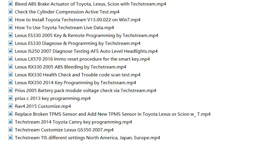 Toyota TIS Techstream Video+PDF Tutorial-1