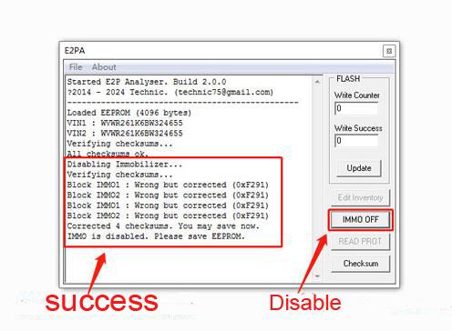 Bosch MED9 1 ECU IMMO Disable Software Download