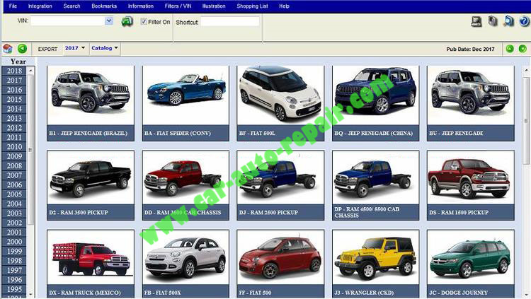 JEEP Dodge Chrysler PAIS 4 EPC 2018 Free Download (3)