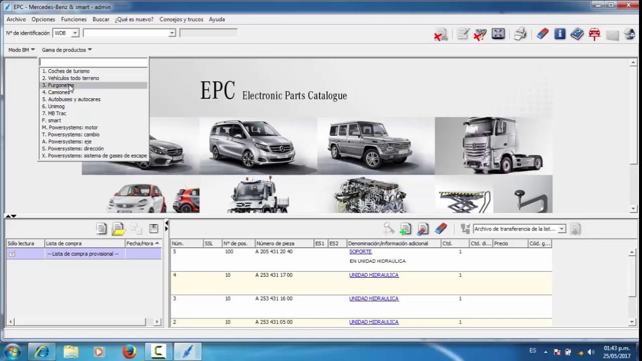 11.2018 Benz EPC+04.2019 Benz WIS Software Installation