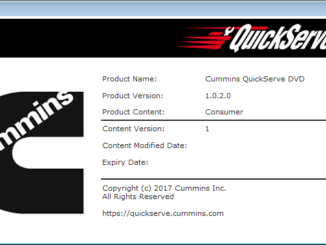 Cummins QuickServe DVD 2017