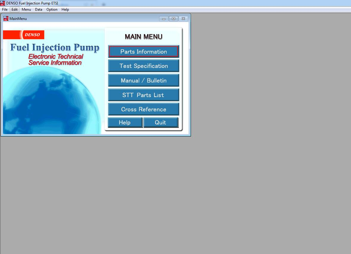 2017 DENSO Fuel Injection Pump ETSI