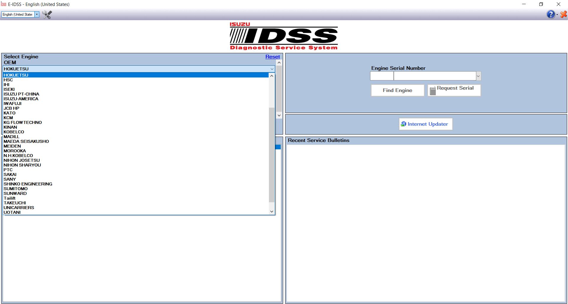ISUZU E-IDSS 03.2021